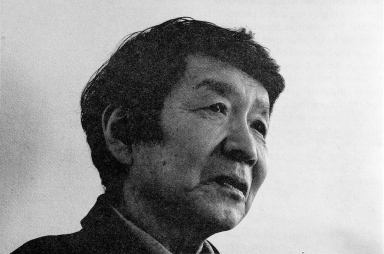Kazuo Kitai. Photo made during interview by Tsuyoshi Ito for A/FIXED