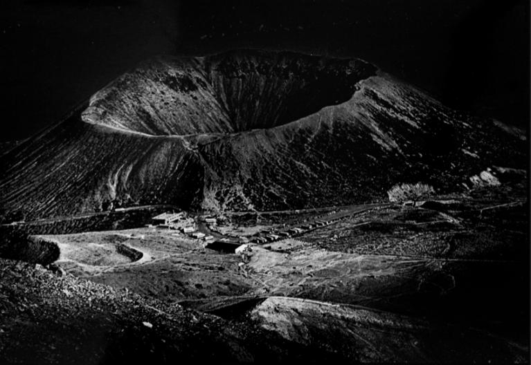 Daido Moriyama (1975) Mount Aso, Vintage silver gelatin print, 40 x 27.7 cm © Daido Moriyama Photo Foundation