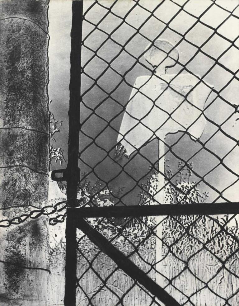 Ivo Přeček Photodrawing - Specter, 1960