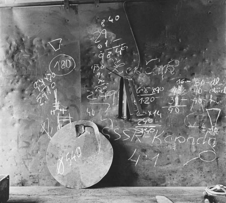 Ivo Přeček Work board I, 1965