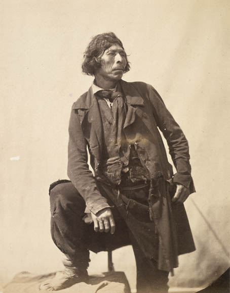 Paul-Émile Miot Mi'kmaq (Micmac) man [Newfoundland] 1859 Albumen print Library and Archives Canada