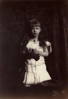 'Princess Marie of Edinburgh' (Marie, Queen of Romania) by Rupert Potter