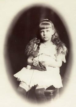'Princess Marie of Edinburgh' (Marie, Queen of Romania) by Rupert Potter2