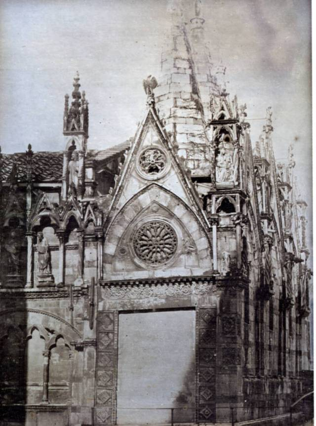 Santa Maria della Spina, Pisa (South side toward East end) Unknown photographer c. 1846 Daguerrotype