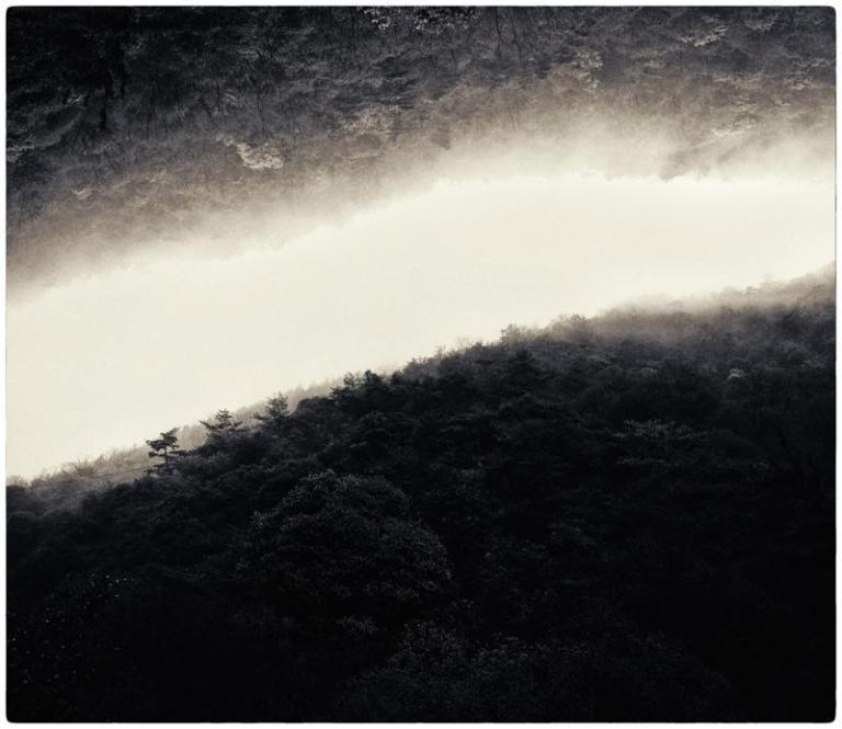 #4021 Work- Kαιρός (Kairos) Description- Cyanotype over platinum print.