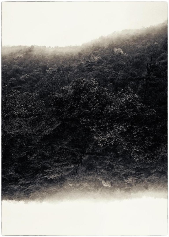 #4022 Work- Kαιρός (Kairos) Description- Cyanotype over platinum print.