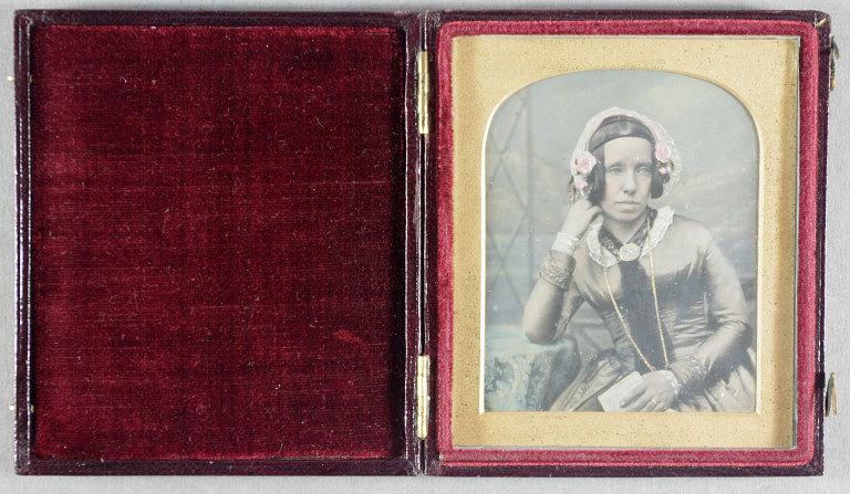 Claudet, Antoine. Portrait of Mrs Andrew Pritchard, 23 September 1847