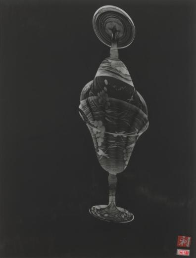 From the collection of the National Gallery of Victoria: Susan Purdy (1999) from the Love letters series, gelatin silver photograph, fibre-tipped pen, 38.9 × 29.3 cm.