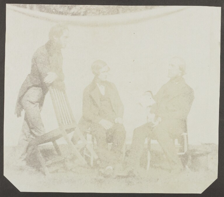 From the Life - John Frederick Goddard instructs Nicolaas Henneman and Charles Porter
