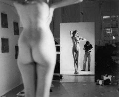 Jemima Stehli (2000) Self Portrait with Karen 2000
