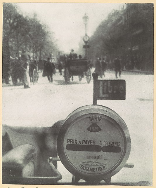 Les Boulevards Artist-Pierre Dubreuil (French, 1872–1944) Date-1909 Medium-Bromoil print Dimensions-23.5 x 19.5 cm Ford Motor Company Collection, Gift of Ford Motor Company and John C