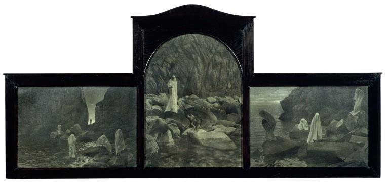 Les Parques 1930 60 x 129 cm
