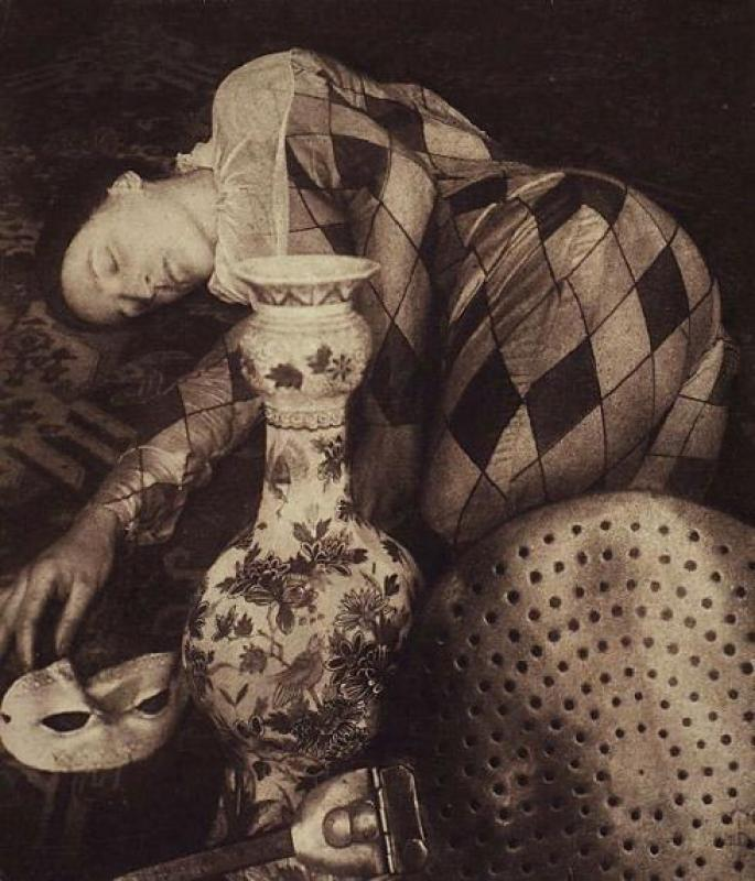 Pierre Dubreuil- Harlequin - Still Life, 1923 $US80,500 at Christies auction 4 - 5 October 2012, New York