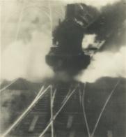 Pierre Dubreuil 'Puissance' , 1928 oil print 24.4 by 22.5 cm