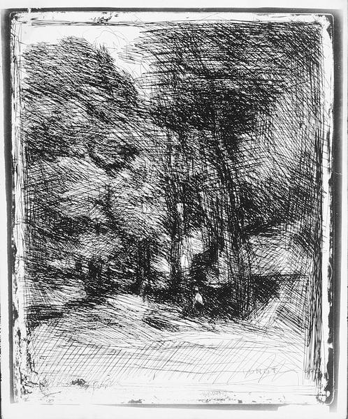 Memory of Bas Brhaut, 1858 (cliche verre)