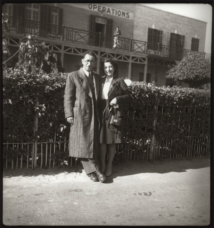 Edmond Belali; Ida Kar by Ida Kar 2 1:4 inch square film negative, late 1930s Purchased, 1999