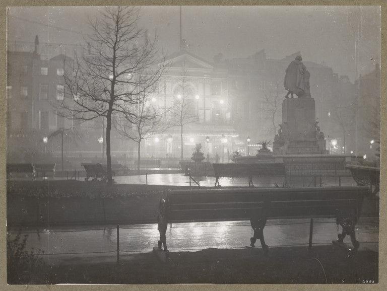 Paul Martin Old Empire Theatre in Leicester Square in London 1895