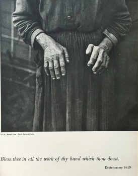 Ulmann photograph as it appeared in The Family of Man exhibition catalogue.