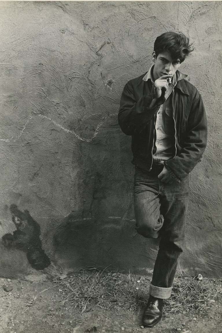 Edward Wallowitch (1932–1981), Young Man Smoking a Cigarette, ca. 1956, Gelatin silver print. The Andy Warhol Museum, Pittsburgh; Founding Collection, Contribution The Andy Warhol Foun