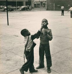 Henri Leighton (c.1950-1953) Black Children, gelatin silver print. Collection of George R. Rinhart