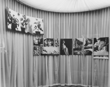 "Birth - Installation view of the exhibition, ""The Family of Man."" January 24, 1955–May 8, 1955. The Museum of Modern Art Archives. Photograph by Ezra Stoller."