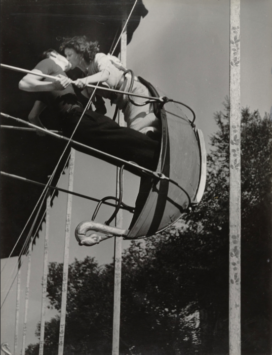 Brassai's (1936) Kiss on a Swing at a Street Fair