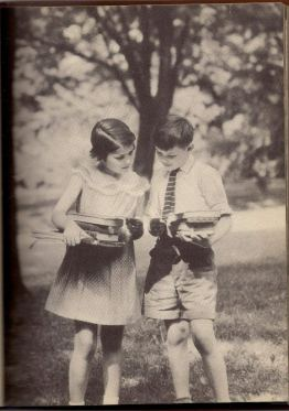 William Clayton Pryor and Helen Sloman Pryor, from The Paper Book, 1936.