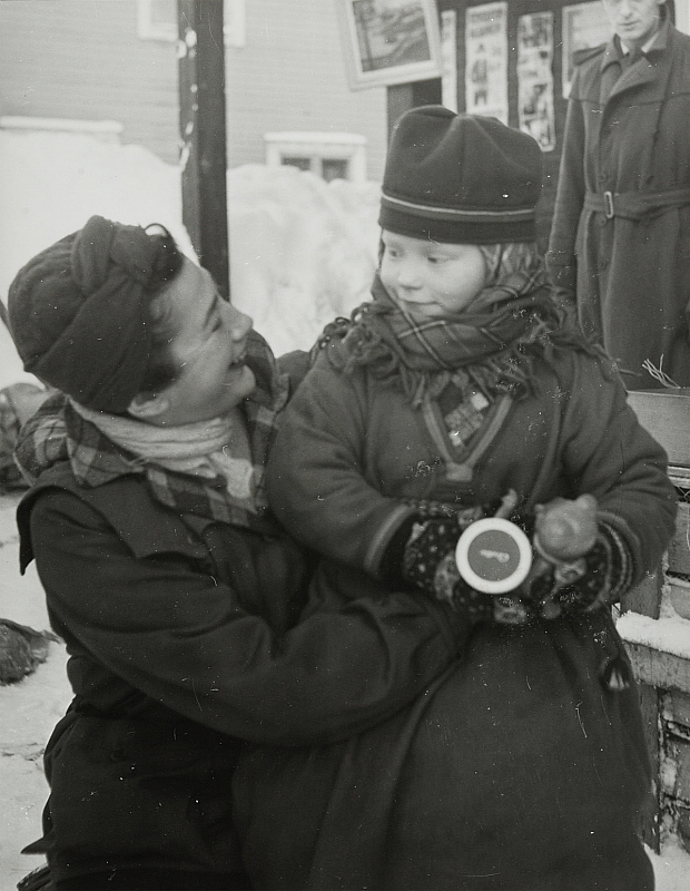 Anna Riwkin och Elle Kari, ca 1949 Anna Riwkin and Elle Kari