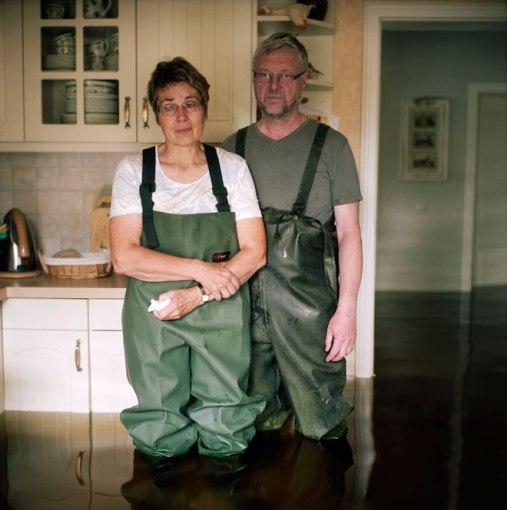 Gideon Mendel (2013) Brigitte and Friedhelm Totz, Elster village Saxony-Anhalt, Germany June 2013