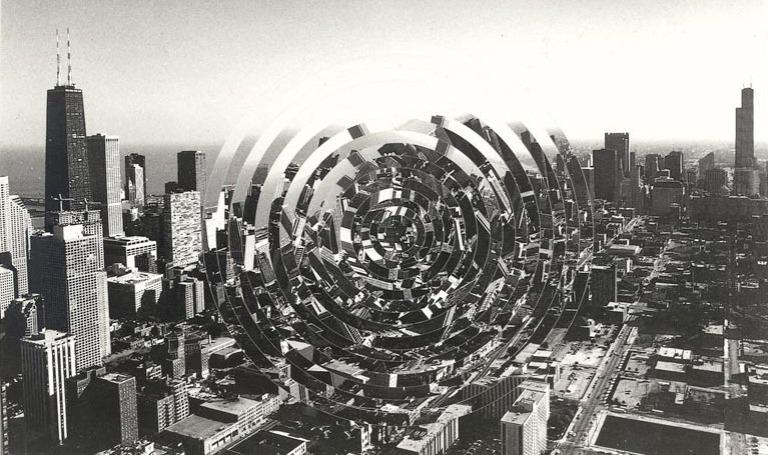 Cinesation Chicago, 1974, Chicago. Pol Bury