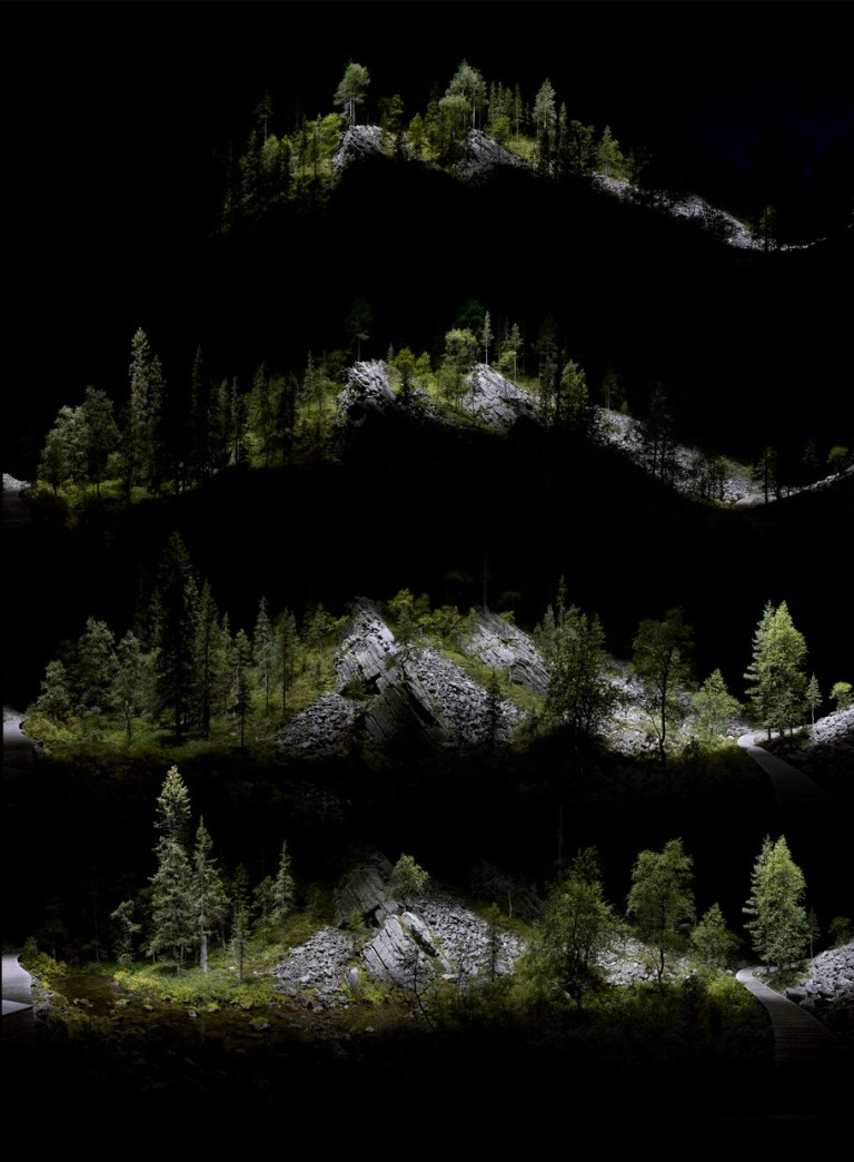 Isokuru Gorge, exploded view 2015