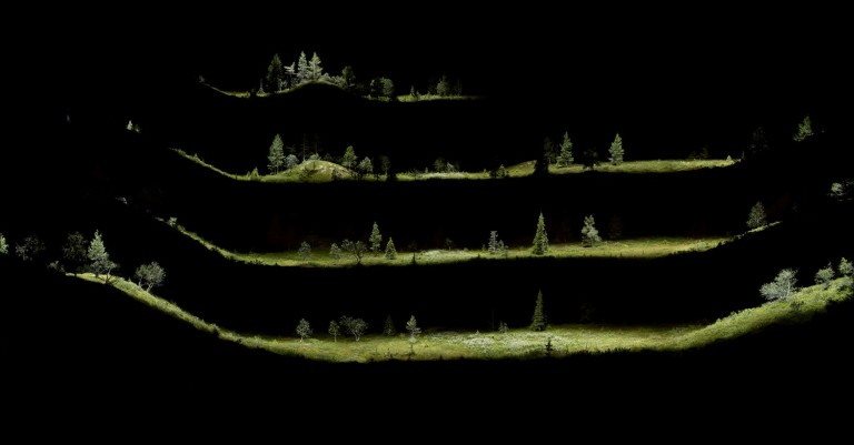 Knolls, Pallas Fell – exploded view, 2016