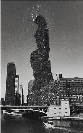 Pol Bury Chicago , 1997 27.94 x 17.15 cm