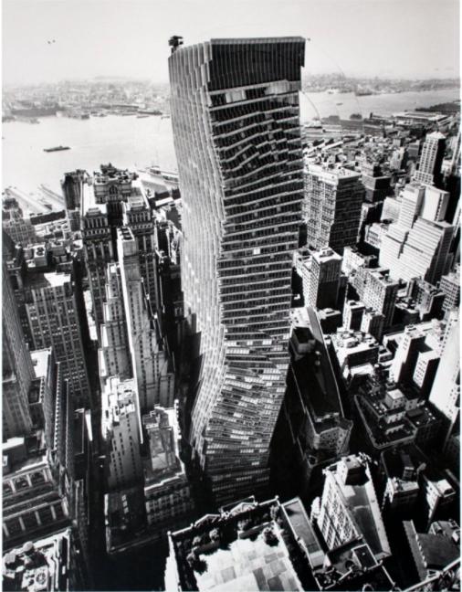 Pol Bury-Manhattan Decoupage (1965)