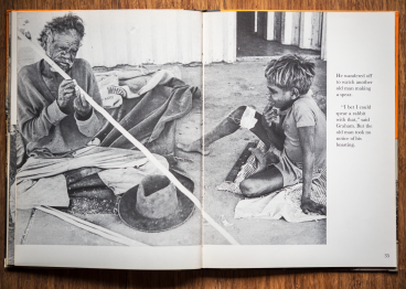 Brian McArdle (1967) spread from Graham is an Aboriginal Boy, published 1968, photographer: Brian McArdle, author: Stan Marks.