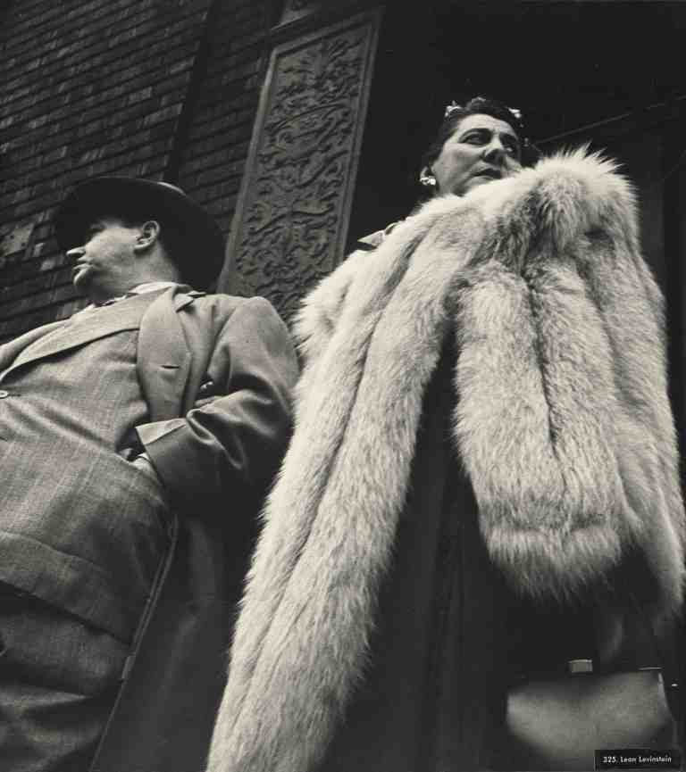 Woman in fur, 1950–1959
