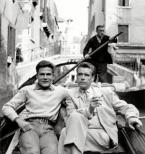 Herbert List and Max Scheler, Venice 1952