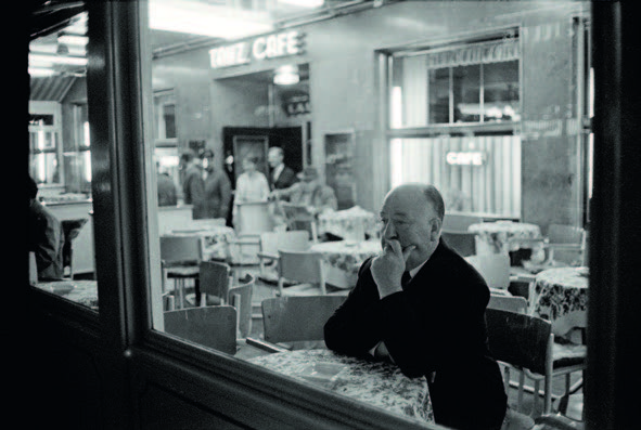 Max Schelere 1963 Alfred Hitchcock