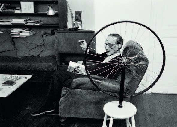 Vera Mercer 'Marcel Duchamp', Paris 1960