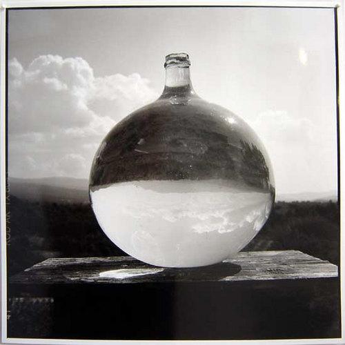 Bill Culbert Bonbonne with Landscape, France, 2002 silver gelatin prints 40.5 × 40.5cm Edition of 25