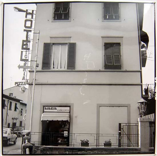 Bill Culbert Hotel, Florence, 1992 silver gelatin prints 40.5 × 40.5cm Edition of 25