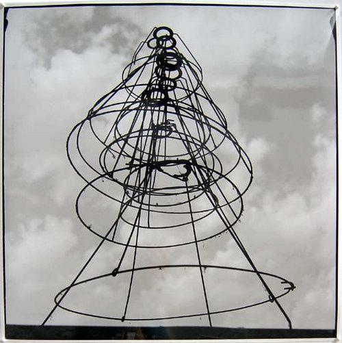 Bill Culbert Lampshades, France, 1992 silver gelatin prints 40.5 × 40.5cm Edition of 25