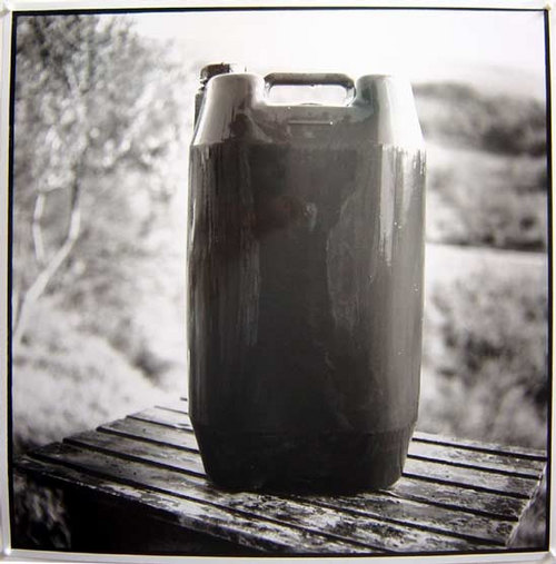 Bill Culbert Wet Plastic Bottle, France, 2002 silver gelatin prints 40.5 × 40.5cm Edition of 25