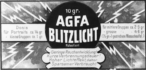 agfa-blitzlichtpulver