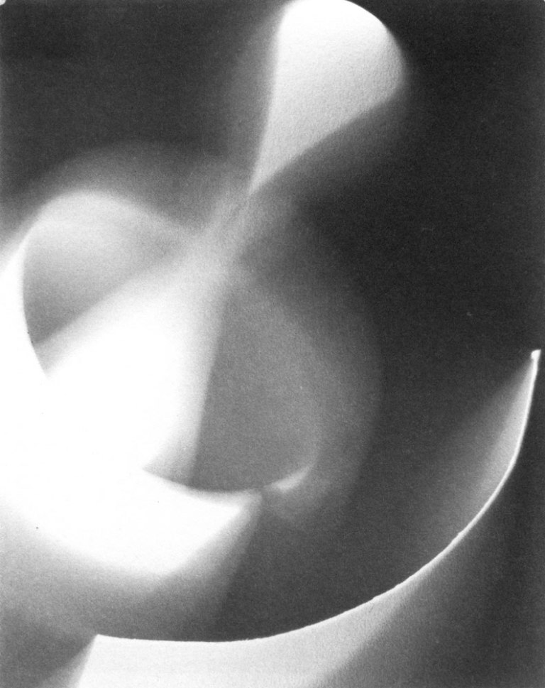 Photogram, 1937-39 Gelatin Silverprint 5 x 4 in Location- New Jersey State Museum, NJ. Museum Purchase (1984).
