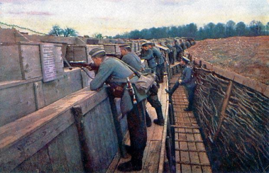 Hans Hildenbrand (1870–1957) from a series of rare colour photographs made on the Alsace and Champagne fronts in 1915 and 1916