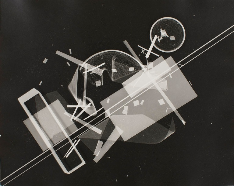 Untitled, 1930-40 Gelatin Silver Print, Photogram 9 7:8 x 7 3:4 inches (25.1 x 19.7 cm) Collection- Saint Louis Art Museum, Missouri. Museum Shop Fund (1984).