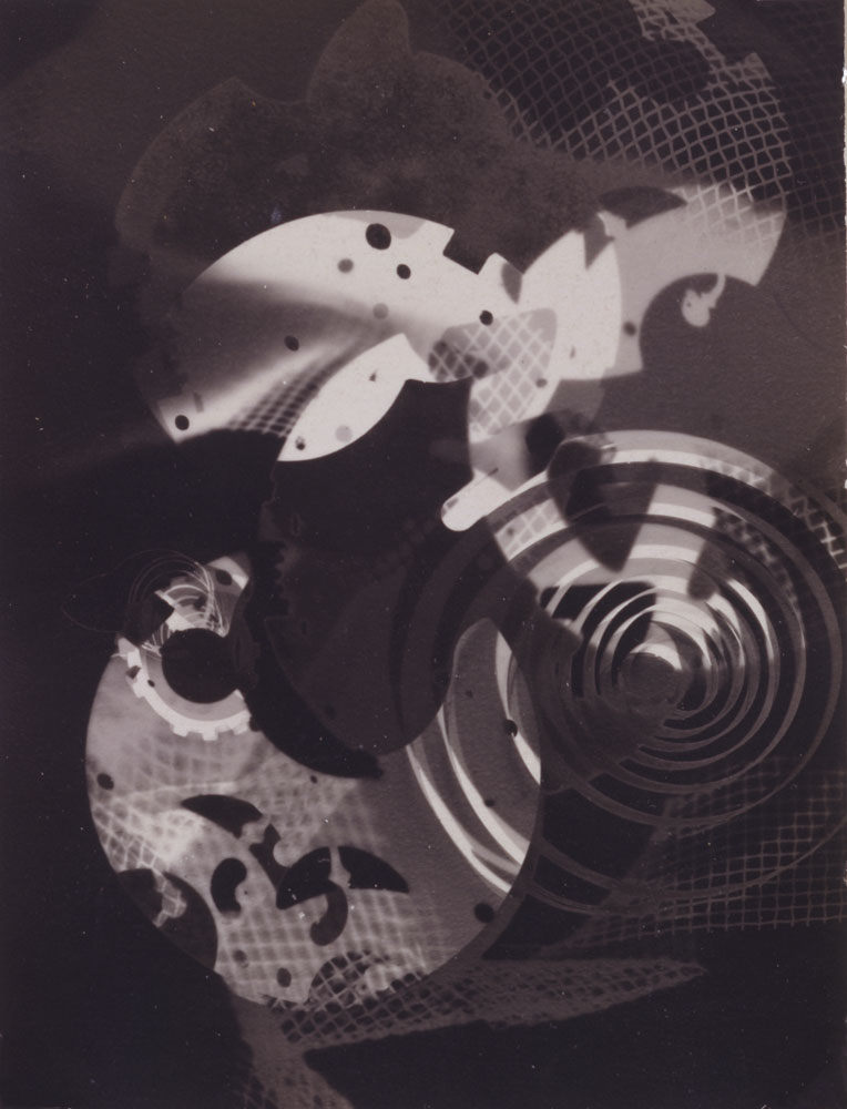 Untitled, 1937 Gelatin Silver Print 4.25 X 3.25 inches Collection- Newark Museum, New Jersey. Gift of Virginia M. Zabriskie (1989) 1937_Untitled_Photogram_Newark