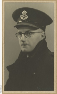 Photographer Keith Phillips in RAAF uniform during World War II.