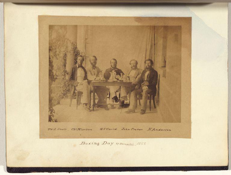Thomas L. Scott, Charles Morison, George S. Caird, John Croker, Hendricks